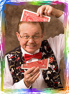 Wayne the Wizard is a wonderful entertainer for young and old.  Great entertainment for party, anniversary, birthday or any event.  Pink Gorilla.